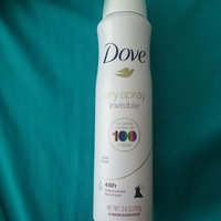 Dove Invisible Dry Spray Clear Finish Antiperspirant uploaded by Ty S.