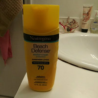Neutrogena® Beach Defense® Water + Sun Protection Sunscreen Lotion Broad Spectrum Spf 70 uploaded by patria v.