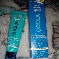 COOLA Sport Face SPF 50 White Tea Organic Sunscreen Lotion uploaded by Genedra T.