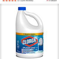 Clorox® Splash-Less® Bleach uploaded by Jacqueline F.