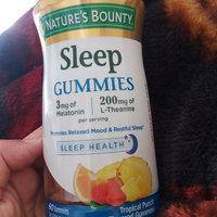 bounty sleep nature mg gummies melatonin natures punch complex health