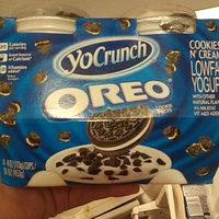 YoCrunch Cookies n' Cream Lowfat Yogurt with Oreo Cookie Pieces uploaded by Esmeralda E.