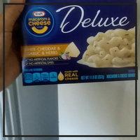 Kraft Deluxe White Cheddar & Herbs 11.9 oz uploaded by brea b.