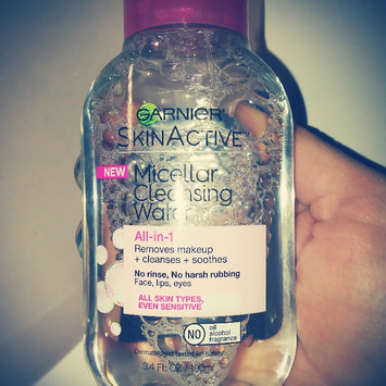 Photo of Garnier SkinActive Micellar Cleansing Water All-in-1 uploaded by Caroline c.