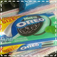 Nabisco Oreo - Sandwich Cookies - Chocolate Mint Creme uploaded by brea b.