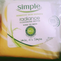 Simple Radiance Cleansing Wipes uploaded by keri l.