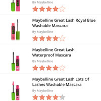 MAYBELLINE® GREAT LASH® Washable Mascara uploaded by Raven w.