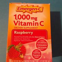 Emergen-C 1,000 mg Vitamin C Raspberry uploaded by heidi v.