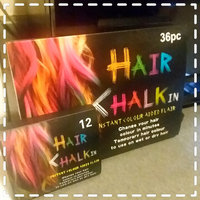 36 Colors Non-toxic Temporary Hair Chalk Dye Soft Pastels Salon Kit With Box by bestfavor uploaded by hoopforezmypangs B.