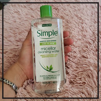 Simple® Micellar Water Cleanser uploaded by 💕Letty_Garza 💖.