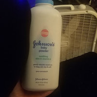 Johnson's® Baby Pure Cornstarch Powder Aloe Vera & Vitamin E uploaded by Mackenzie N.