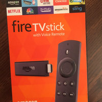 Amazon - Fire Tv Stick With Voice Remote - Black uploaded by scott f.