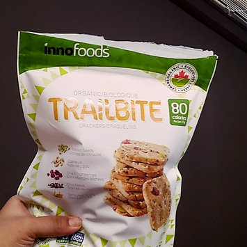 Photo of Innofoods Organic Trailbite Crackers With Pumpkin Seeds, Cashews, Dried Chia And uploaded by Elaine P.
