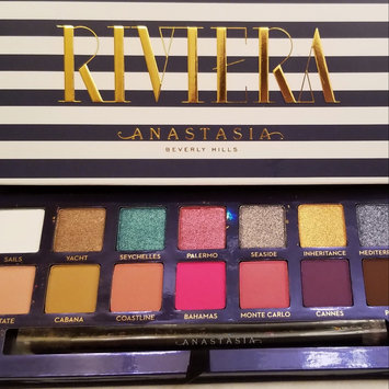 Photo of Anastasia Beverly Hills Riviera Eyeshadow Palette uploaded by Kelly M.