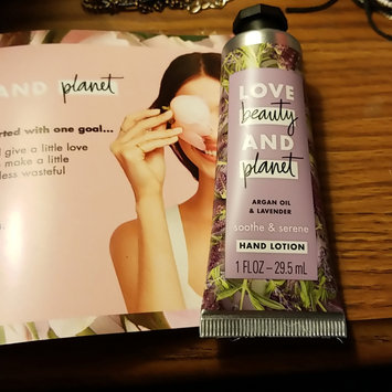 Photo of Love Beauty And Planet Argan Oil & Lavender Hand Lotion uploaded by Kimberlyn B.