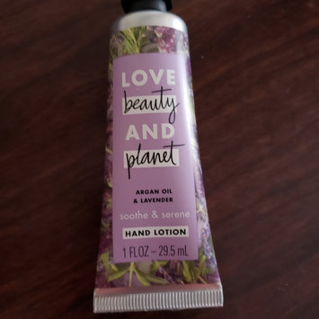 Photo of Love Beauty And Planet Argan Oil & Lavender Hand Lotion uploaded by Priscilla C.