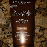 L'Oréal Paris Sublime Bronze™ Tinted Self-Tanning Lotion Medium Natural Tan uploaded by Alejandra J.