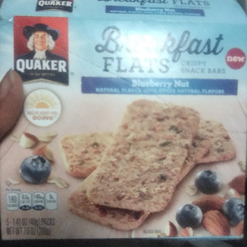 Photo of Quaker® Breakfast Flats Blueberry Nut Crispy Snack Bars 5-1.41 oz. Wrappers uploaded by Kendra L.