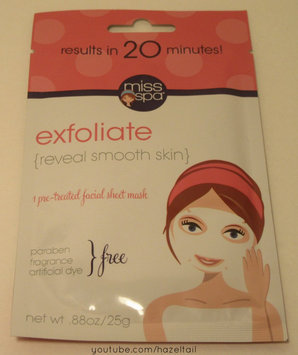 Miss Spa exfoliate Sheet Face Mask-1 Mask Pack uploaded by Ashley S.