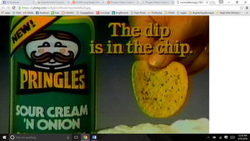 Pringles Potato Crisps Sour Cream & Onion uploaded by Taylor H.