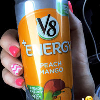 V8® V-Fusion + Energy Peach Mango Flavored Vegetable & Fruit Juice uploaded by Meghin S.