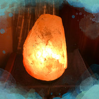 WBM # 1004 Natural Air Purifying Himalayan Salt Lamp With Neem Wood uploaded by Stephanie F.