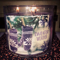 Bath & Body Works Bath and Body Works 3-wick Candle 2016 Winter Edition uploaded by Ashlee W.