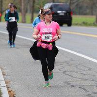 Hoka One One Women's W Bondi 4 Running Shoe [Grey/Hawaiian Ocean, 7 B(M) US] uploaded by Nancy W.
