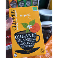 Clipper Fairtrade Green Tea With Mango uploaded by Paula d.