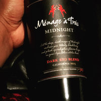Menage a Trois Midnight California Dark Red Wine Blend 750mL Bottle uploaded by Genesee M.