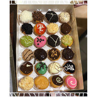 Krispy Kreme 6 Count Chocolate Iced Creme Filled Doughnuts Pack of 2 uploaded by Mrs.Sawsan T.