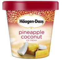Haagen-Dazs Pineapple Coconut Ice Cream uploaded by Stephanie M.