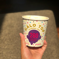 Halo Top Birthday Cake Ice Cream uploaded by Christa J.
