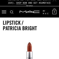 M.A.C Cosmetics Matte Lipstick uploaded by Michelle M.