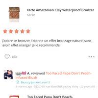 tarte Amazonian Clay Waterproof Bronzer uploaded by IGGY🎀 A.