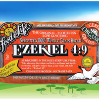 Food For Life Ezekiel 4:9 Sprouted 100% Whole Grain Bread uploaded by Lisa Y.