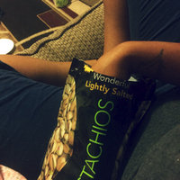 Wonderful Pistachios (Lightly Salted Pistachios, 16oz Pack of 1) uploaded by Amber B.