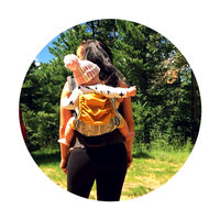 Baby Tula Archer Baby Carrier in Grey/White uploaded by rubi M.