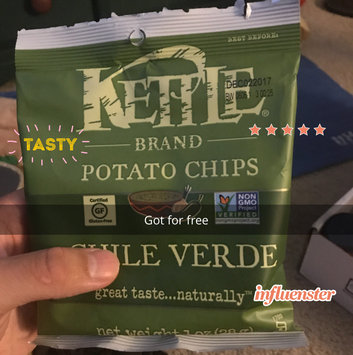 Photo of KETTLE BRAND®Potato Chips Chile Verde uploaded by Leo T.
