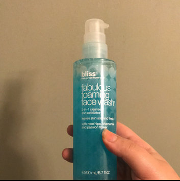 Bliss fabulous foaming face wash, 6.7 oz uploaded by Brittany W.