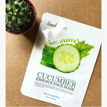 Nupore nu-pore Fresh Aloe & Cucumber Collagen Essence Mask 2 masks 1 Aloe And 1 Cucumber uploaded by fashion ..