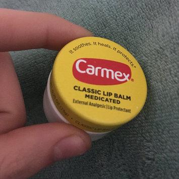 Photo of Carmex® Classic Lip Balm Original Jar uploaded by Amber L.