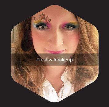 Photo uploaded to #FestivalMakeup by Daphne L.