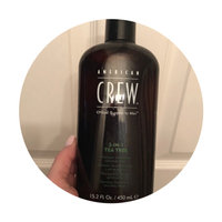 American Crew 3-in-1 Tea Tree Shampoo, Conditioner and Body Wash uploaded by Jamie B.