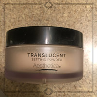 Aesthetica Translucent Loose Setting Powder – Matte Finishing Powder – Flash Friendly - Includes Velour Puff uploaded by Kayla E.