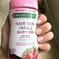 Nature's Bounty Hair, Skin & Nails Gummies uploaded by Angela A.