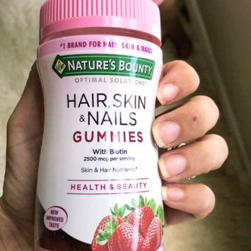 Photo of Nature's Bounty® Optimal Solutions® Hair, Skin & Nails Gummies uploaded by Angela A.