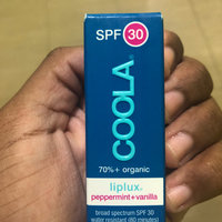 COOLA Liplux® SPF 30 Peppermint Vanilla Organic Lip Sunscreen uploaded by Alake T.