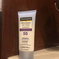 Neutrogena® Ultra Sheer® Dry-Touch Sunscreen Broad Spectrum SPF 55 uploaded by 🌻Claire E.