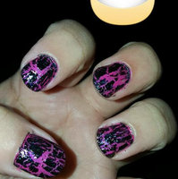 Sally Hansen Big Crackle Top Coat - Black On uploaded by Jamie N.
